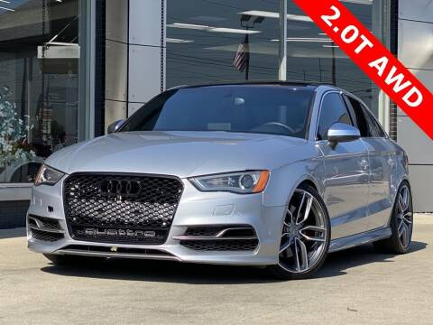2015 Audi S3 for sale at Carmel Motors in Indianapolis IN