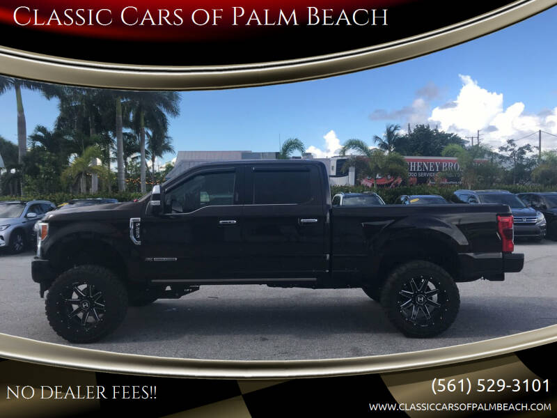 2019 Ford F-250 Super Duty for sale at Classic Cars of Palm Beach in Jupiter FL