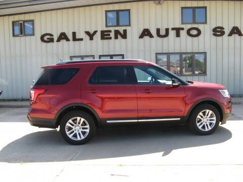 2018 Ford Explorer for sale at Galyen Auto Sales Inc. in Atkinson NE