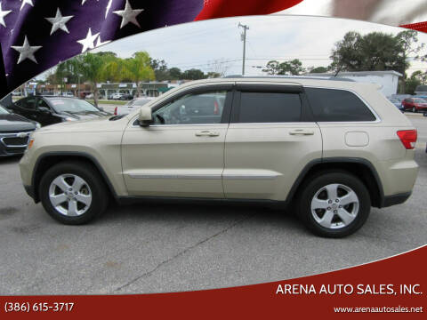 2012 Jeep Grand Cherokee for sale at ARENA AUTO SALES,  INC. in Holly Hill FL