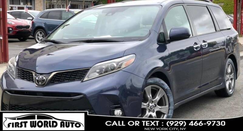 2019 Toyota Sienna for sale at First World Auto in Jamaica NY