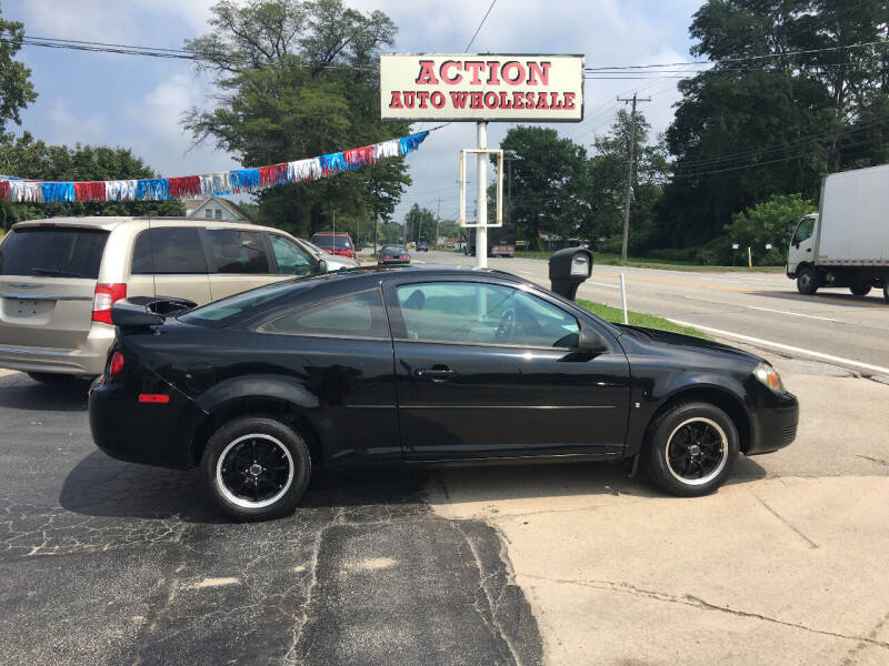 2008 Chevrolet Cobalt for sale at Action Auto Wholesale in Painesville OH