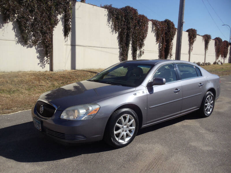 2007 Buick Lucerne for sale at Metro Motor Sales in Minneapolis MN