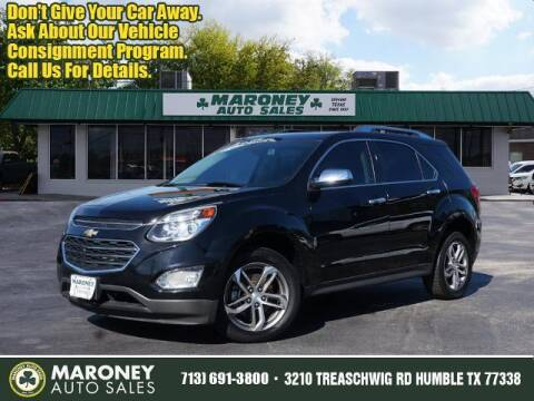 2017 Chevrolet Equinox for sale at Maroney Auto Sales in Humble TX