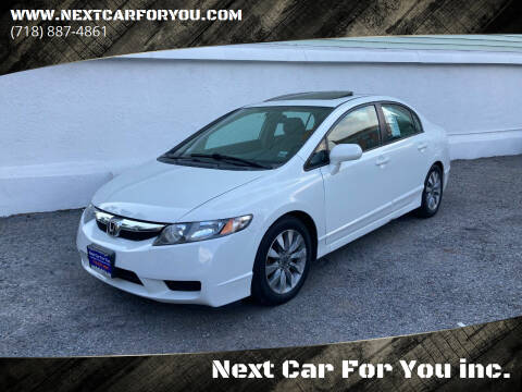 2010 Honda Civic for sale at Next Car For You inc. in Brooklyn NY