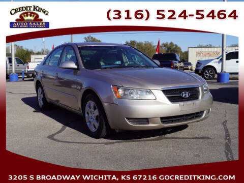 2008 Hyundai Sonata for sale at Credit King Auto Sales in Wichita KS