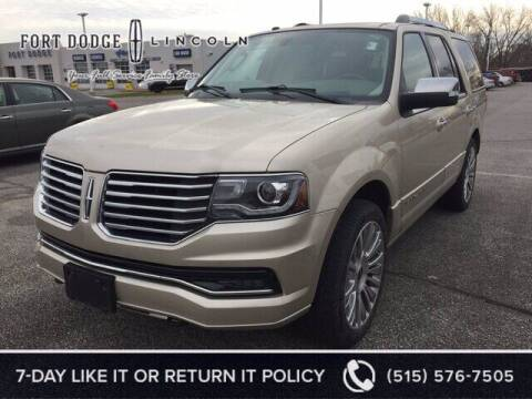 2017 Lincoln Navigator for sale at Fort Dodge Ford Lincoln Toyota in Fort Dodge IA