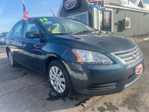 2014 Nissan Sentra for sale at Cape Cod Carz in Hyannis MA