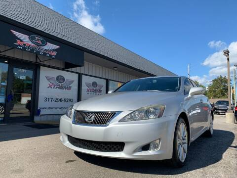 2010 Lexus IS 250 for sale at Xtreme Motors Inc. in Indianapolis IN