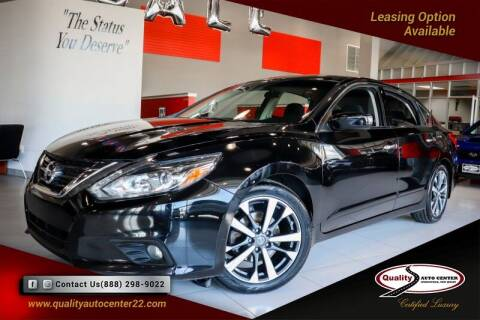 2017 Nissan Altima for sale at Quality Auto Center of Springfield in Springfield NJ