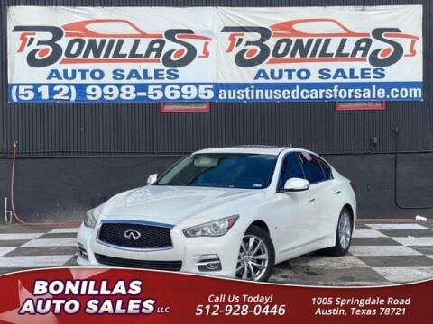 2014 Infiniti Q50 for sale at Bonillas Auto Sales in Austin TX