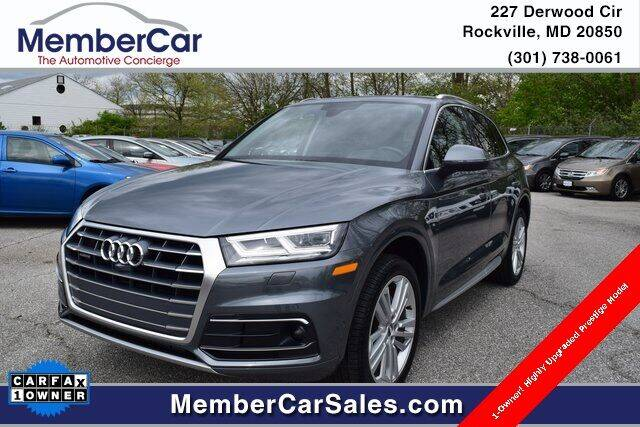 2019 Audi Q5 for sale at MemberCar in Rockville MD