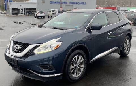 2017 Nissan Murano for sale at Father & Sons Auto Sales in Leeds NY