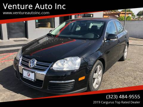 2008 Volkswagen Jetta for sale at Venture Auto Inc in South Gate CA