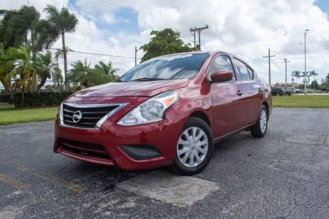 2017 Nissan Versa for sale at Guru Auto Sales in Miramar FL