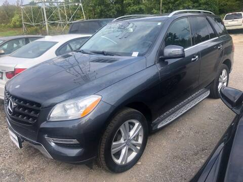 2014 Mercedes-Benz M-Class for sale at Maroun's Motors, Inc in Boardman OH