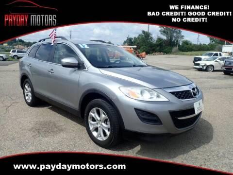 2012 Mazda CX-9 for sale at Payday Motors in Wichita KS