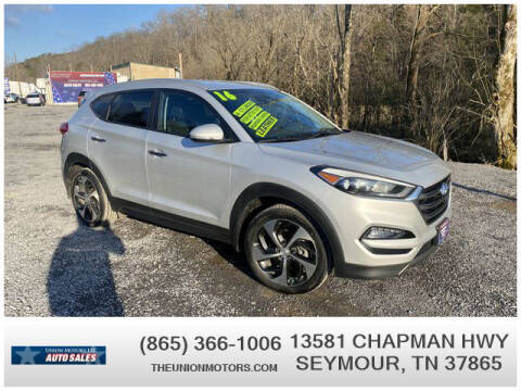 2016 Hyundai Tucson for sale at Union Motors in Seymour TN