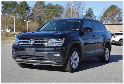 2019 Volkswagen Atlas for sale at WHITE MOTORS INC in Roanoke Rapids NC