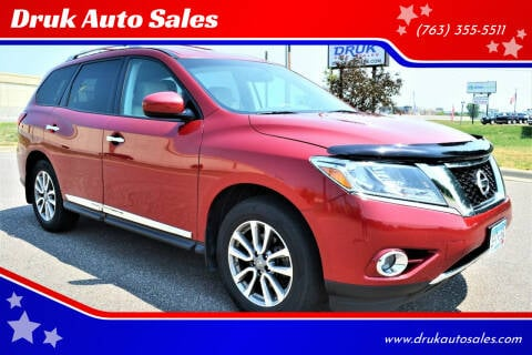 2014 Nissan Pathfinder for sale at Druk Auto Sales in Ramsey MN