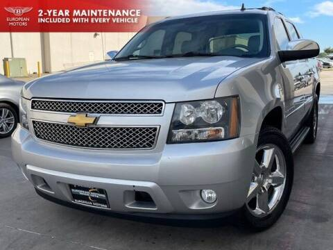 2013 Chevrolet Avalanche for sale at European Motors Inc in Plano TX