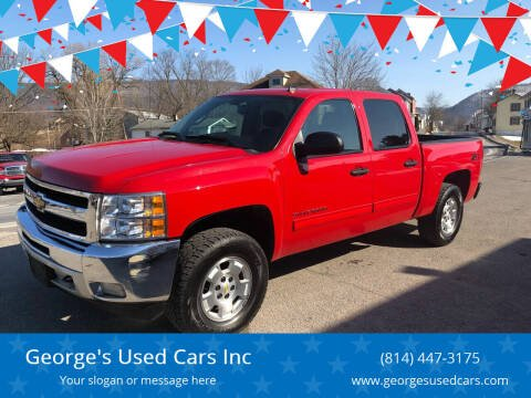 2011 Chevrolet Silverado 1500 for sale at George's Used Cars Inc in Orbisonia PA