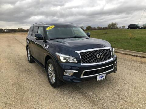 2015 Infiniti QX80 for sale at Alan Browne Chevy in Genoa IL