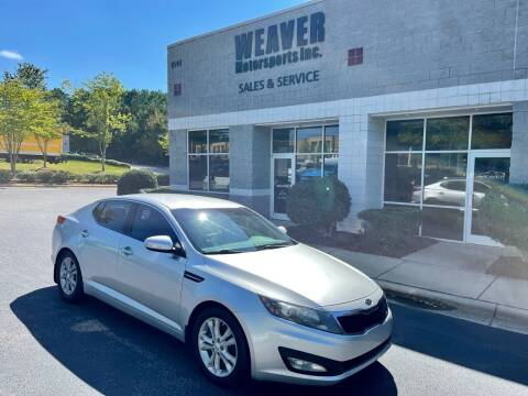2012 Kia Optima for sale at Weaver Motorsports Inc in Cary NC