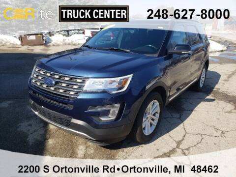 2017 Ford Explorer for sale at Carite Truck Center in Ortonville MI