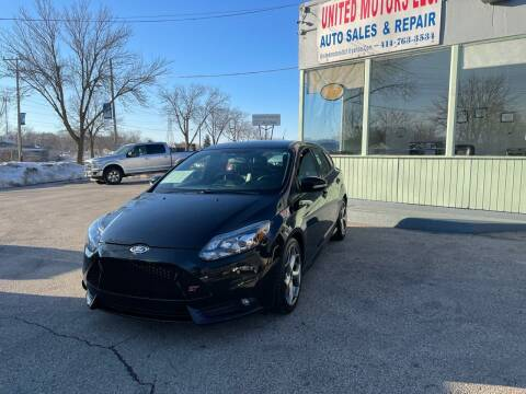 2014 Ford Focus for sale at United Motors LLC in Saint Francis WI