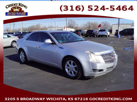 2009 Cadillac CTS for sale at Credit King Auto Sales in Wichita KS