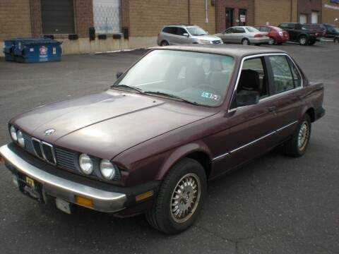 1986 BMW 3 Series for sale at 611 CAR CONNECTION in Hatboro PA