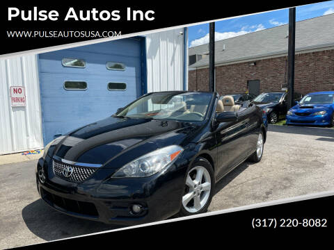 2008 Toyota Camry Solara for sale at Pulse Autos Inc in Indianapolis IN