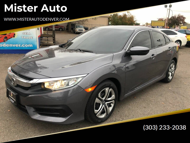 2017 Honda Civic for sale at Mister Auto in Lakewood CO