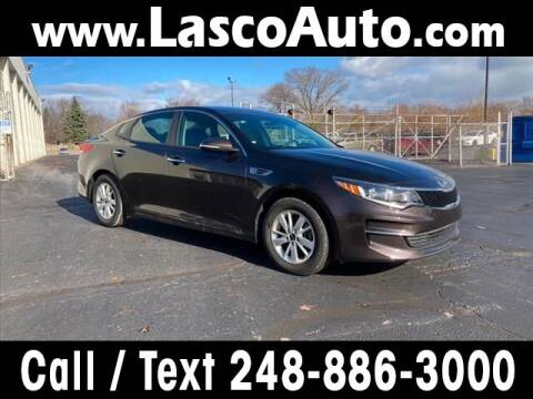 2018 Kia Optima for sale at Lasco of Waterford in Waterford MI