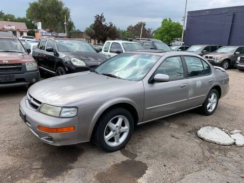 1999 Nissan Maxima for sale at B Quality Auto Check in Englewood CO