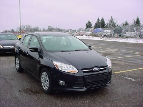 2012 Ford Focus for sale at VOA Auto Sales in Pontiac MI