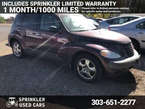 2001 Chrysler PT Cruiser for sale at Sprinkler Used Cars in Longmont CO