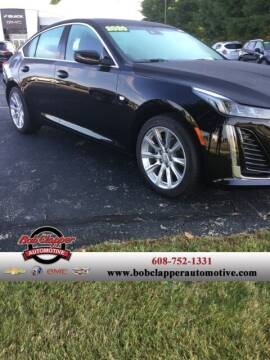 2020 Cadillac CT5 for sale at Bob Clapper Automotive, Inc in Janesville WI