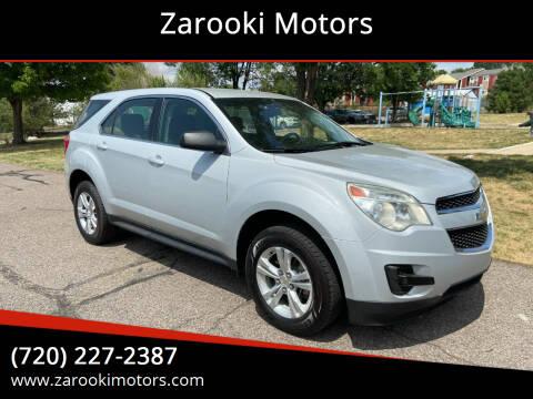 2011 Chevrolet Equinox for sale at Zarooki Motors in Englewood CO
