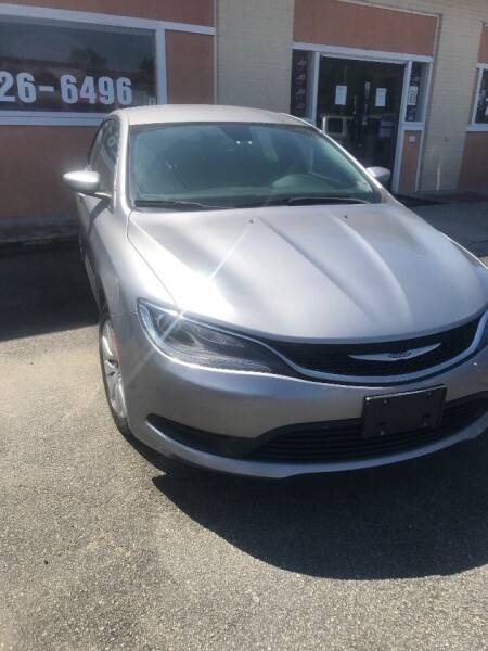2016 Chrysler 200 for sale at City to City Auto Sales in Richmond VA