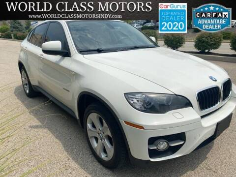 2009 BMW X6 for sale at World Class Motors LLC in Noblesville IN