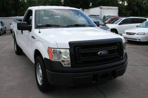 2014 Ford F-150 for sale at Mike's Trucks & Cars in Port Orange FL