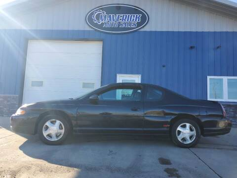 2000 Chevrolet Monte Carlo for sale at Maverick Automotive in Arlington MN