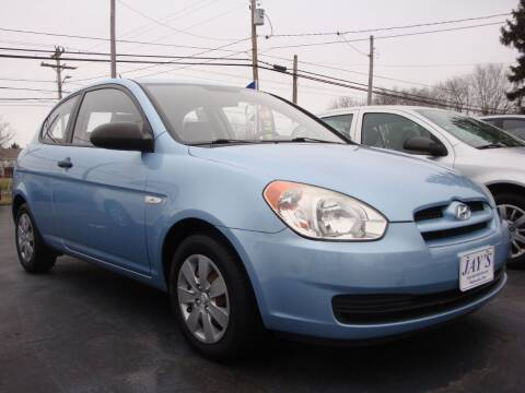 2008 Hyundai Accent for sale at Jay's Auto Sales Inc in Wadsworth OH
