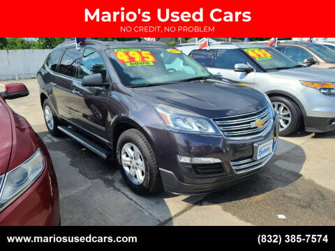 2015 Chevrolet Traverse for sale at Mario's Used Cars - South Houston Location in South Houston TX