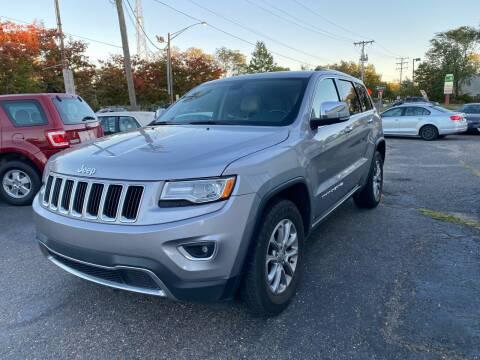 2015 Jeep Grand Cherokee for sale at Union Avenue Auto Sales in Hazlet NJ