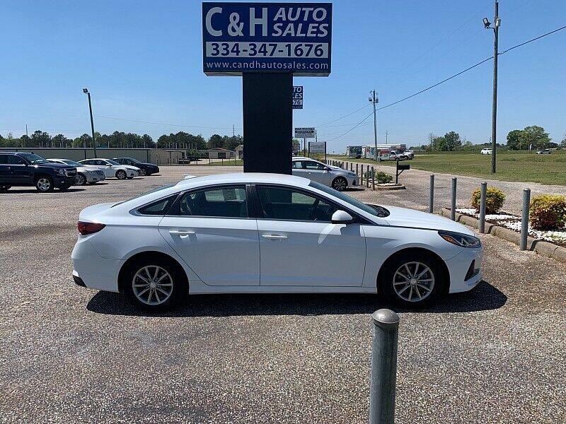 2018 Hyundai Sonata for sale at C & H AUTO SALES WITH RICARDO ZAMORA in Daleville AL