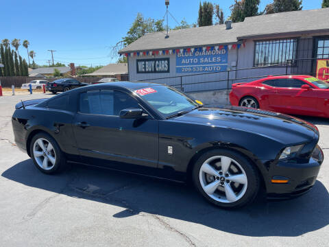 2013 Ford Mustang for sale at Blue Diamond Auto Sales in Ceres CA