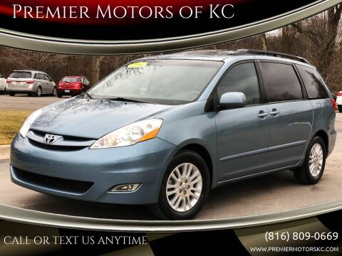2009 Toyota Sienna for sale at Premier Motors of KC in Kansas City MO